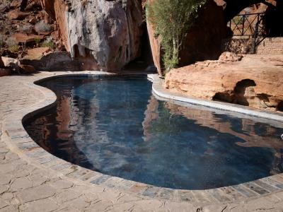 Simming pool at Twyfelfontein