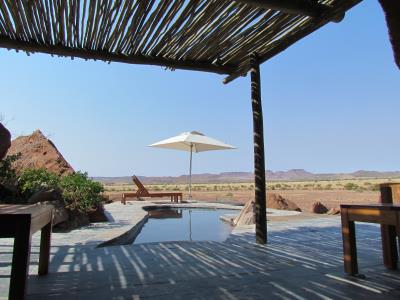Twyfelfontein Lodge Suite Pool
